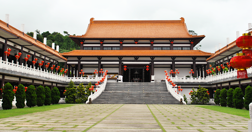 Vista Frontal Templo Zulai em Cotia/SP